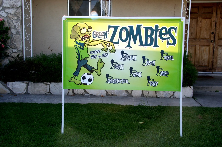 Soccer Team Banners